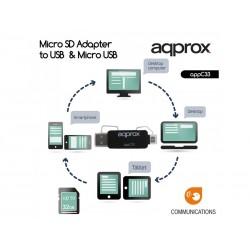 Adaptador de microSD - SD &...