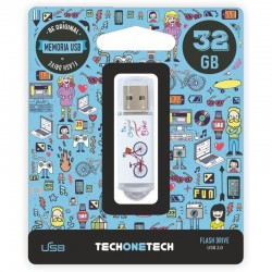 PENDRIVE TECH ONE TECH BE...