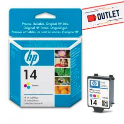 Cartucho tinta HP 14 -...