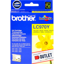 BROTHER LC970Y - amarillo
