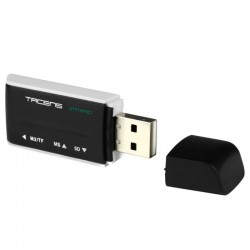 Lector tarjetas externo USB...