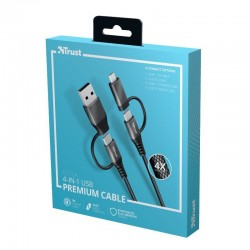 CABLE  USB Macho + MicroUSB...