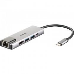 HUB USB-TIPO C 5 EN 1...