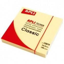 Notas adhesivas APLI 75x75