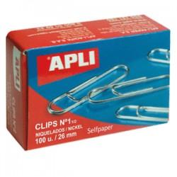 Clips Niquelados APLI Nº...