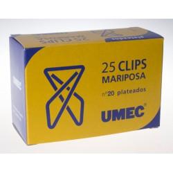 Clips mariposa UMEC nº20 -...