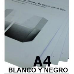 Impresión en tamaño A4 B/N...