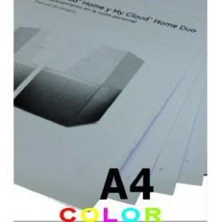 Impresión en tamaño A4...