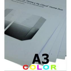Impresión en tamaño A3...
