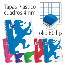 Cuadros 4 mm. - Folio -...